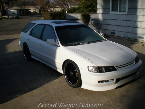 Accordwagonclub Sean De Harts 1995 Accord Wagon 5th Gen Jdm Exr